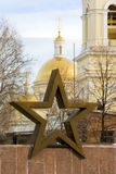 Church&Star Stock Image