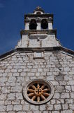 Church in Starigrad on Hvar island Royalty Free Stock Images