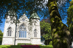 The Church of Stavanger, Norway Royalty Free Stock Photography