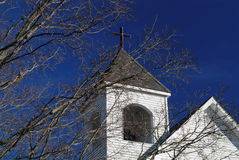 Church Steeple. Close-up of Church Steeple Stock Images