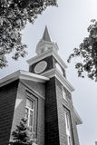 Church Steeple 3. Church and steeple in Grandville, Ohio, USA Stock Photography