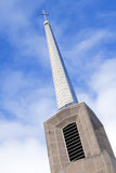 Church steeple, angled Stock Photography