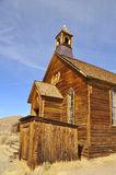 Church Steeple in Ghost Town Stock Photography