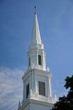 Church Steeple New England Stock Image