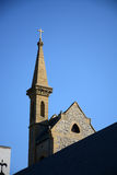 Church steeple Royalty Free Stock Photo