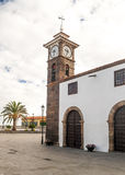 Church steeple  of San Juan de la Rambla Stock Photography