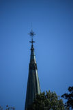 Church Steeple in Sweden Stock Photos