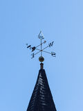 Church steeple wind vane Stock Image