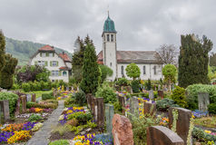 Church Stein am Rhein Switzerland Royalty Free Stock Image