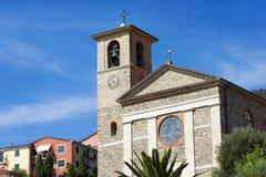 Church of Stella Maris - Tellaro Liguria Italy Stock Image