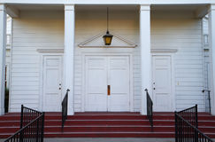 Church steps door Royalty Free Stock Photos