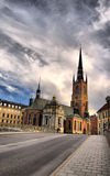 Church in Stockholm Royalty Free Stock Images