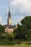 Church in stockholm Royalty Free Stock Photo
