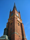 Church in Stockholm. Lutheran church in Stockholm, Sweden stock image