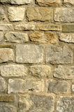 Church stone wall Royalty Free Stock Photos