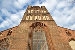 Church in Stralsund Royalty Free Stock Image