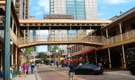 Church street bridge in Orlando Florida Royalty Free Stock Images