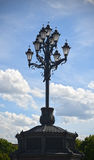 Church street lamp Stock Image