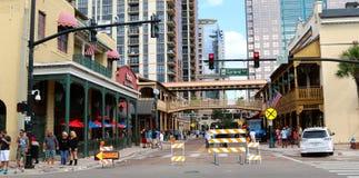 Church street, Orlando Florida Stock Photography