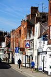 Church Street, Tewkesbury. Royalty Free Stock Images