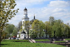 Church of Sts. Alexander Nevsky Stock Photo