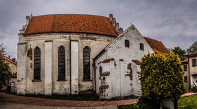 Church of Sts. Andrew Apostle in Barczewo (1325) Stock Photo
