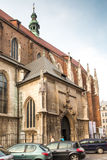Church of Sts. Catherine of Alexandria and St.. Margaret in Kra Royalty Free Stock Photos