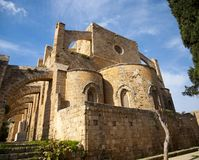 Church of Sts. Peter and Paul. In Famagusta,North Cyprus Royalty Free Stock Photos