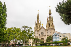 Church of Sts.Peter and Paul in San Francisco Royalty Free Stock Photos