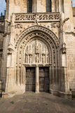 Church of Sts. Radegund at Poitiers Royalty Free Stock Photography