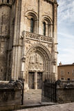 Church of Sts. Radegund at Poitiers Stock Photography