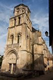 Church of Sts. Radegund at Poitiers Royalty Free Stock Images