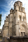 Church of Sts. Radegund at Poitiers Royalty Free Stock Image