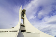 The church in Stykkisholmur, Iceland Royalty Free Stock Images