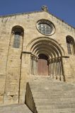 Church of style Romanesque Royalty Free Stock Photo