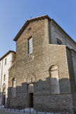 Church of the Suffragio in Rimini, Italy. Stock Photography