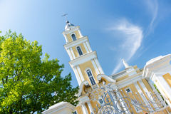 Church in summer Royalty Free Stock Photography