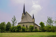 Church on sunny spring day Stock Photography