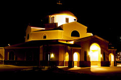 Church at Sunset Royalty Free Stock Photos