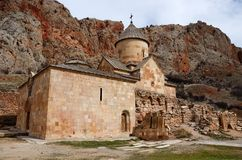 Church of Surb Karapet (St. John the Baptist) in Noravank,Armenia Stock Images