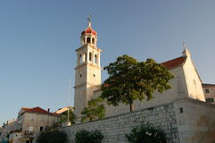 Church in Sutivan on island of Brac - Croatia Royalty Free Stock Photos