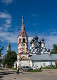 Church in Suzdal Royalty Free Stock Images