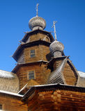 Church in Suzdal. Traditional wooden church with the ancient Russian city of Suzdal stock images
