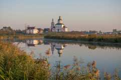 Church in Suzdal. Golden Ring of Russia. royalty free stock photos