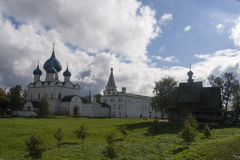 The church in suzdal kremlin,russian federation Royalty Free Stock Photos