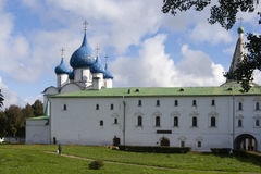 The church in suzdal kremlin,russian federation Stock Photography