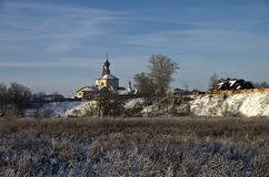 Church in Suzdal, Russia. Royalty Free Stock Images