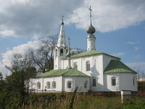 Church in Suzdal, Russia. A church in famous historic town Suzdal, Russia Stock Images
