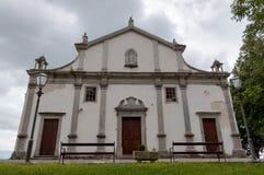 Church of Sv Vida Modesta i Kresencije at Gracisce - Croatia. Church of Sv Vida Modesta i Kresencije fachade at Gracisce - Croatia stock image