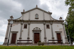 Church of Sv Vida Modesta i Kresencije at Gracisce - Croatia Stock Image